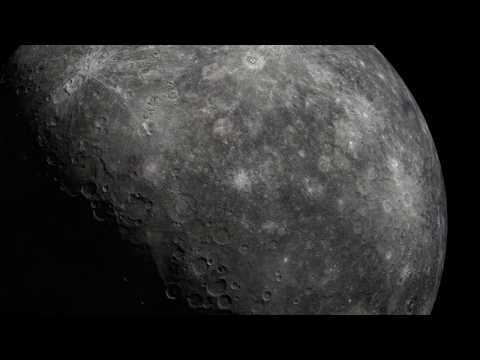 Mercury Visualized from MESSENGER