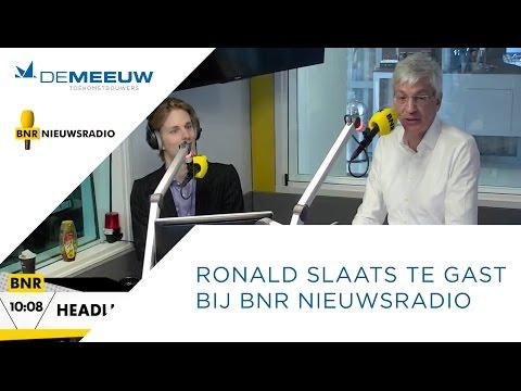 Ronald Slaats te gast bij BNR Nieuwsradio