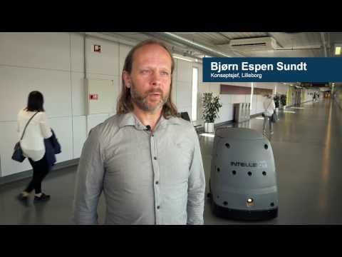 Oslo Lufthavn benytter robotisert renhold