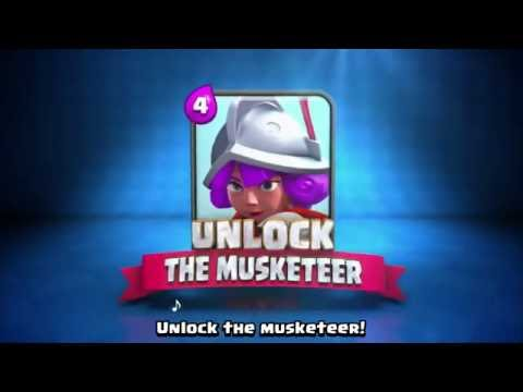 Clash Royale: The Musketeer