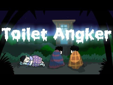 Kartun Lucu - Toilet Angker - Kartun Horor - Kartun Animasi Hantu Indonesia