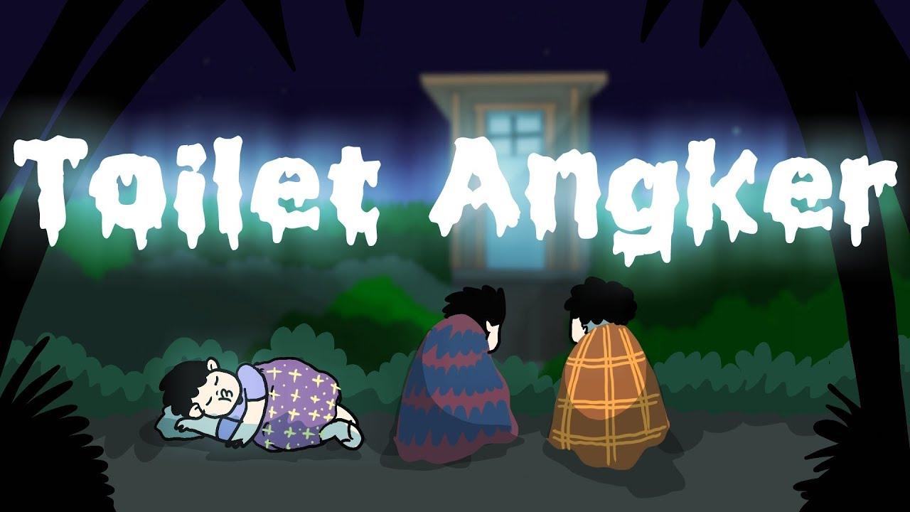 Kartun Lucu Toilet Angker Kartun Horor Kartun Animasi Hantu Indonesia