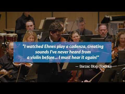 Aaron Jay Kernis Violin Concerto Recording Teaser