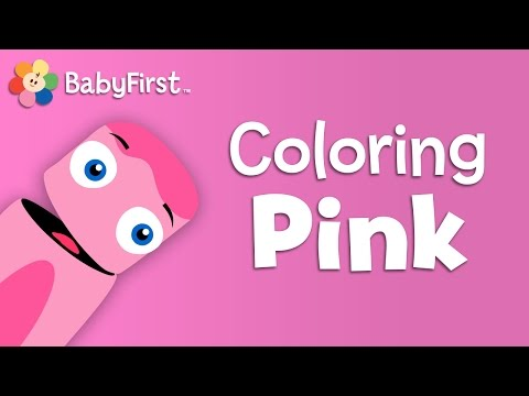 Pigs, Tutus and Ballet Slippers   Pink   Learn the Colors   Color Crew   BabyFirstTV