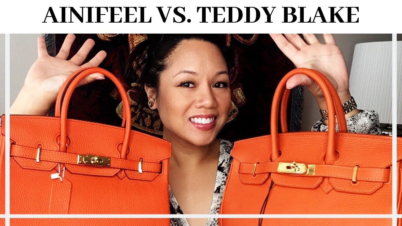a0440ef4cdc Ainifeel VS Teddy Blake  Which is the Better Handbag  - YouTube