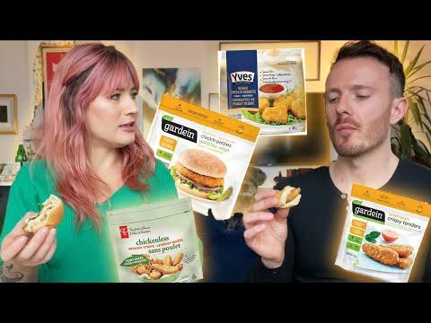 Vegan Chicken Taste Test...Which Brands Are OVER-HYPED?!
