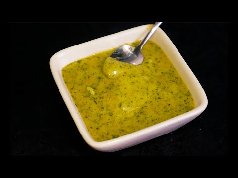 Como hacer mojo verde canario | Salsa fácil y deliciosa