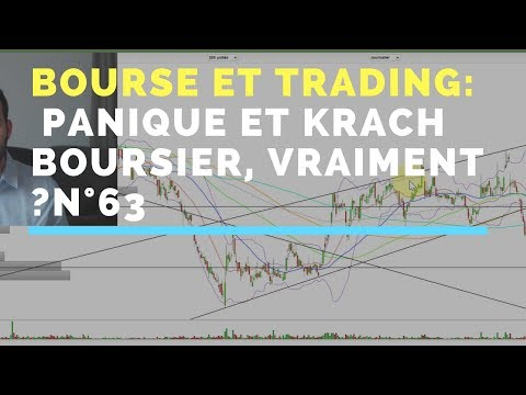 Panique et krach boursier, vraiment ? Bourse et trading n°63