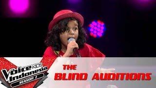 "Yana ""Alusi Au"" | The Blind Auditions | The Voice Kids Indonesia Season 2 GTV 2017"