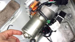 Audi a4 b7 roof motor problems FIXED!