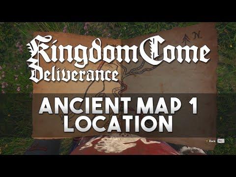 Kingdom Come: Deliverance - Ancient Map 1 Location