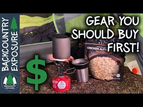 Backpacking Gear You Should Buy First And Why
