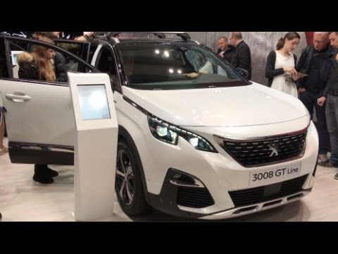peugeot 3008 gt line 2016 in detail review walkaround. Black Bedroom Furniture Sets. Home Design Ideas