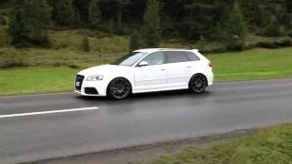 2x Audi RS3 LOUD SOUND!