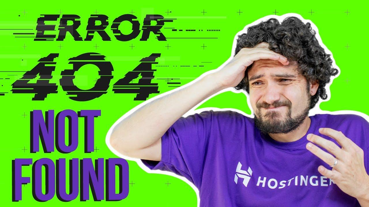 🔍 Erro 404 Not Found Como Resolver 🔍 (2020)
