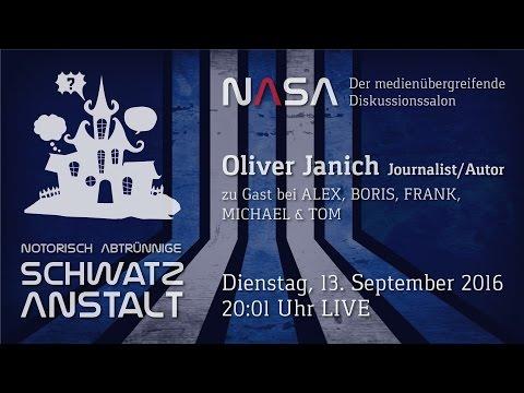 NASA No 6 -  Zu Gast Oliver Janich - US/EU Marionetten | Freie Energie | Geheimbünde & -armeen