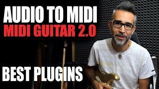 AUDIO TO MIDI - MIDI GUITAR 2.0 (Jam Origin) Best Plugin