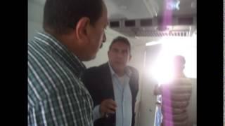 قناة السويس الجديدة مصر: طاهر أبو زيد يزور القناة