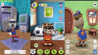 My Talking Tom VS MY TALKING DOG VS Talking Dog Max Gameplay Great Makeover for Children HD