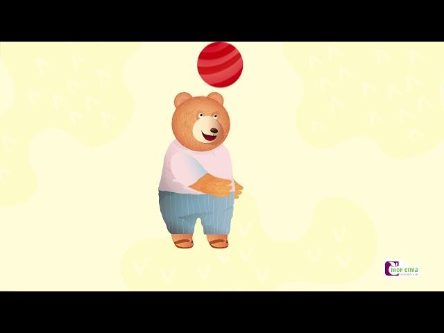 Bobi Kırmızı Rengi Tanıyor / Okul Öncesi Eğitim - Cici Mici 2 Yaş Eğitim Seti