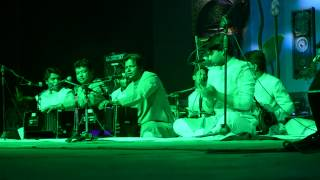 Allah hu by Warsi Brothers at sukoon 2015 University of hyderabad