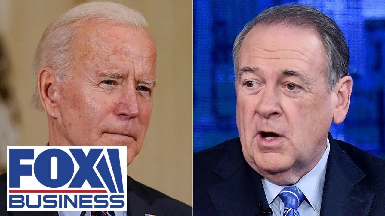 Huckabee warns Biden American Families Plan's $700B mistake will cost Americans