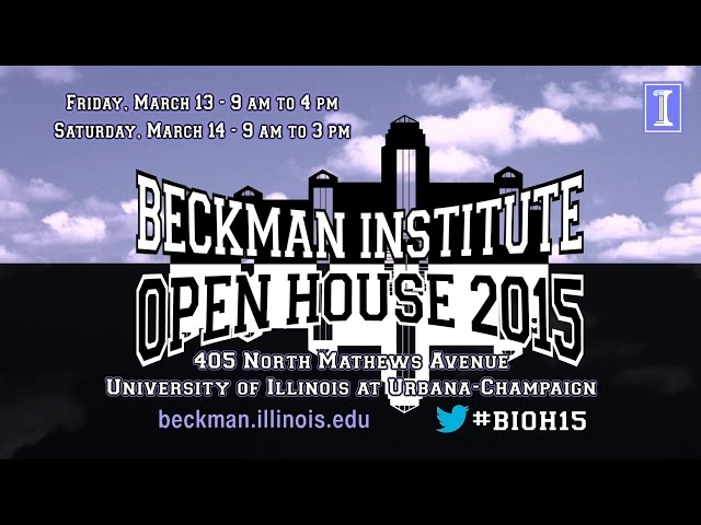 A screenshot from Visit the 2015 Beckman Institute Open House