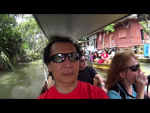 Damnoen Saduak Floating Market - 4 avril 2017