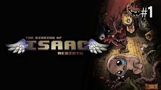 Twitch Livestream | The Binding of Isaac: Rebirth Part 1 [Xbox One]