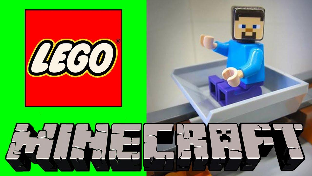 how to build a lego minecraft steve