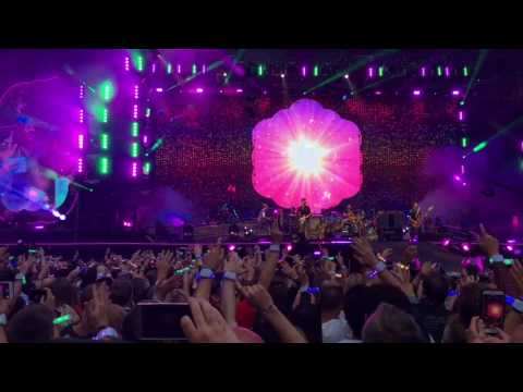Coldplay Live 2017 12th July Cardiff Principality Stadium