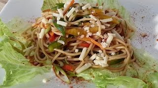 Spaghetti Salad For Lunch Today :) !!