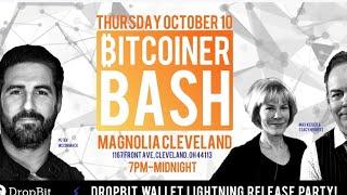 MAX KEISER / PETER McCORMACK - DROPBIT LIGHTNING WALLET release party