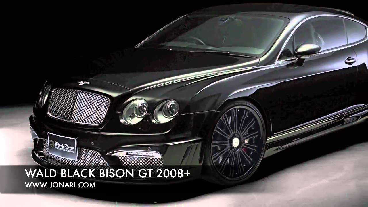 Wald black bison bentley continental gt 2008 youtube wald black bison bentley continental gt 2008 vanachro Images