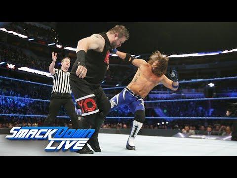 AJ Styles vs. Kevin Owens: SmackDown LIVE,...