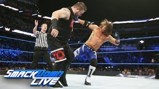 AJ Styles vs. Kevin Owens: SmackDown LIVE, Jan. 23, 2018