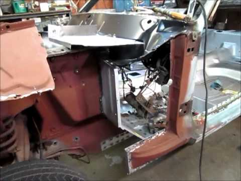 1965 Mustang Cowl And Firewall Part 2 Youtube