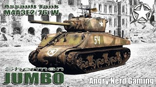 "War Thunder: M4A3E2 (76)W ""Assault Tank"", American, Tier-4, Heavy Tank"