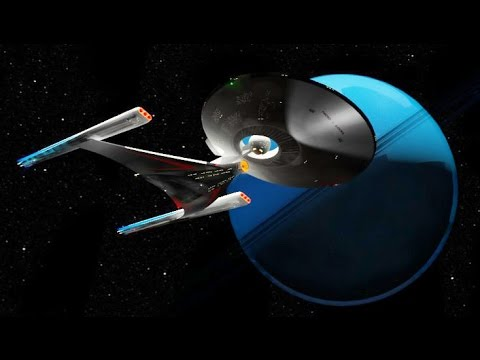 NEW Star Trek USS Discovery NCC 1031 Starship Updated Test Footage