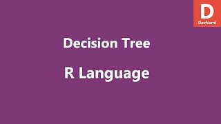 R Programming Decision Tree