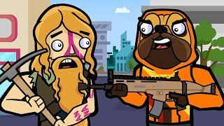 Doggo & Neo Tilted   The Squad (Original Fortnite Animation)