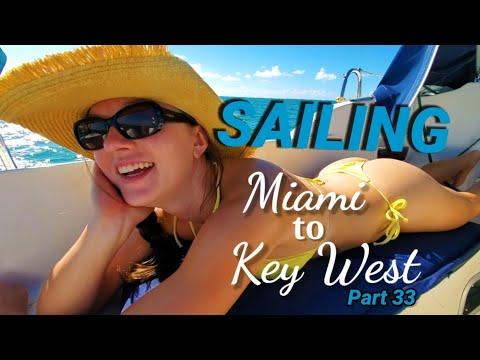 Ep. 69, ⛵ Sailing Marathon (Florida Keys) A Warm Welcome 🐬
