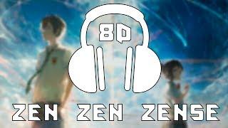 Kimi No Na wa [OST] - Zen Zen Zense/RADWIMPS | 8D AUDIO