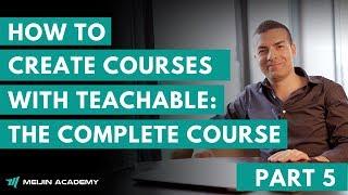 كيفية إنشاء الدورات التعليمية: دورة كاملة - الجزء 5