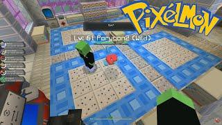crew pixelmon gym badges and porygonz episode 11 minecraft pokemon mod
