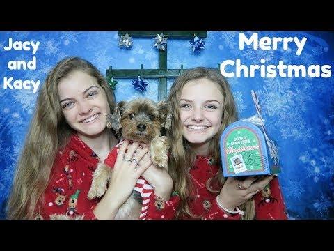 Christmas Day 2017 ~ Jacy and Kacy