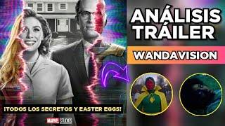 💥 WandaVision ¡TRAILER EXPLICADO! ¡Todos el ANÁLISIS, EASTER EGGS y TEORÍAS! |