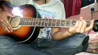 Guitar lesson for Bhagwan hai kahan re tu...