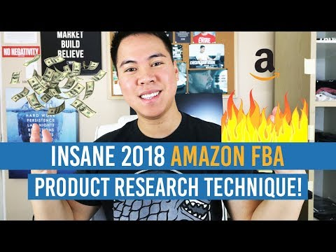 INSANE 2018 AMAZON FBA PRODUCT RESEARCH TECHNIQUE!! INCREDIBLY SIMPLE BUT OVERLOOKED!!