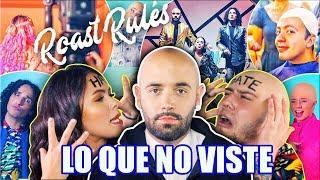 DETRÁS DE CAMARAS ROAST YOURSELF CHALLENGE - LOS RULES - BEHIND THE SCENES